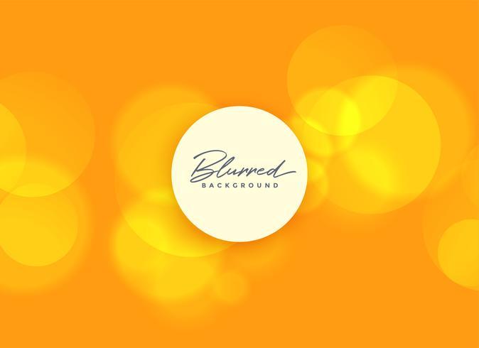 fondo naranja con luces borrosas bokeh