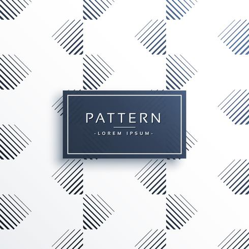 linhas mínimas padrão abstrato