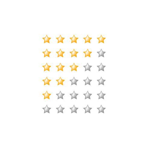 stjärna betygs webbläsarsymbol