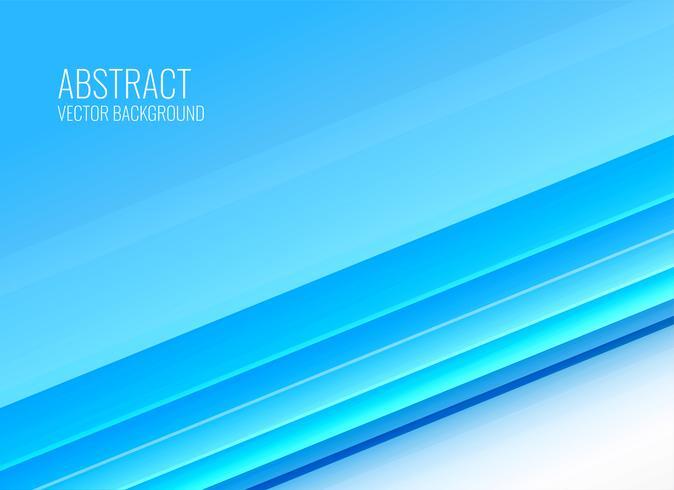 abstrakt blå randar bakgrundsdesign i affärsstil