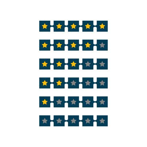 5-stjärnig symboldesign