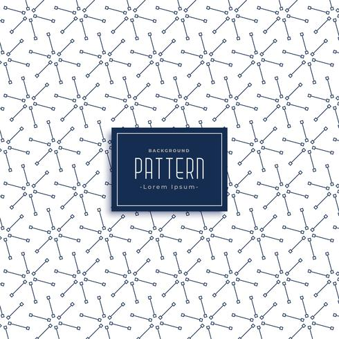 design de padrão de estrela de linha abstrata