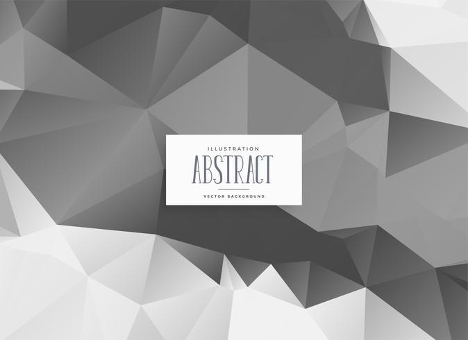 fond de triangle gris poly faible abstrait