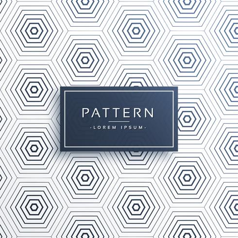 elegante honingraat of zeshoekig patroon achtergrond
