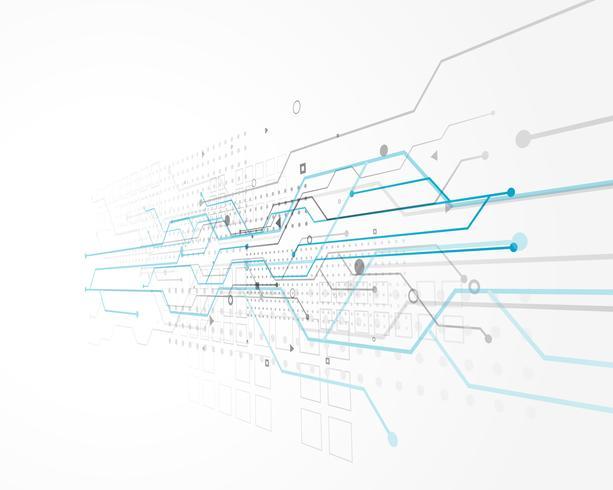 concetto astratto di tecnologia con la rete metallica