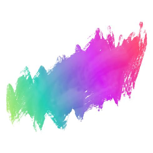 colorful grunge paint stroke background