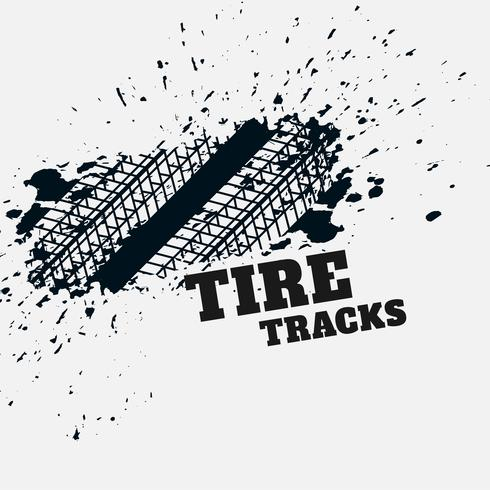 grunge tire mark impression background
