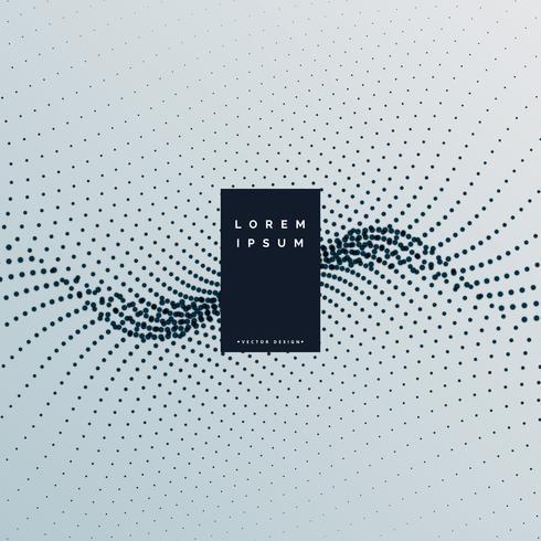 abstrakter Haltone Stil Partikel Hintergrund