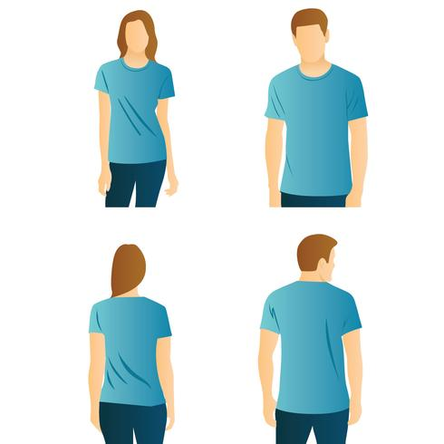 T-shirt Modell Vector Pack