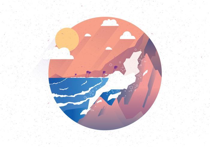 hög hav vol 2 vektor