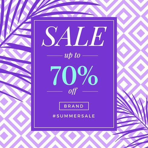 Instagram sommarförsäljningsmall