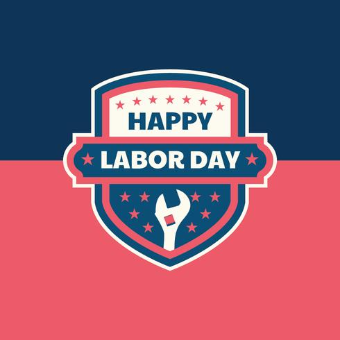 Labour Day Badge