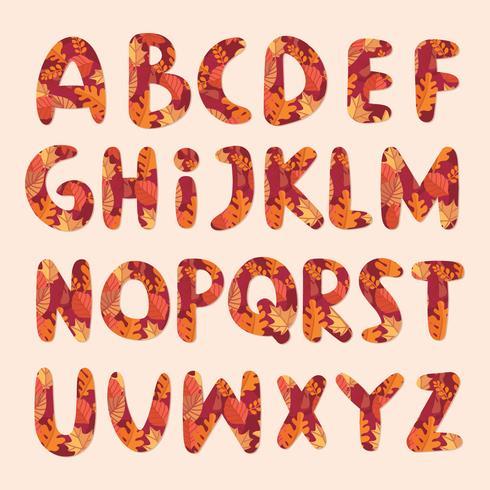 Höst Alfabet