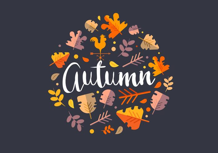 Illustration de la saison d'automne