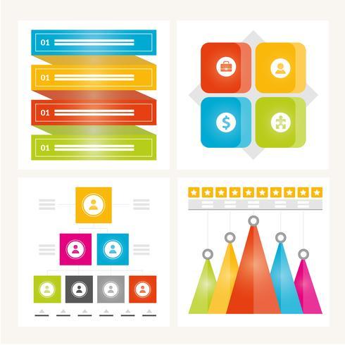 Éléments infographiques et illustration de vecteur