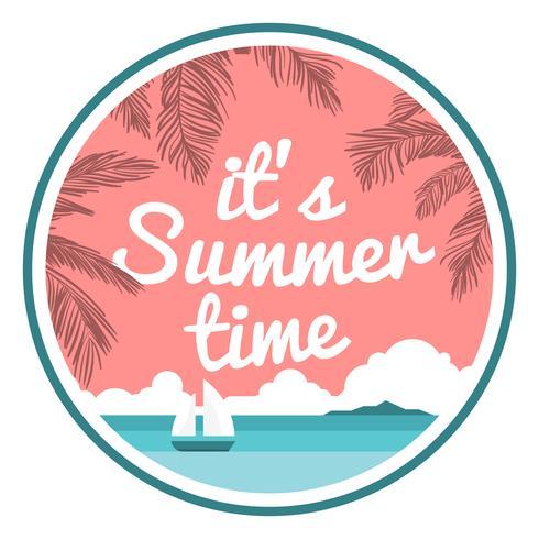 Signe d'été