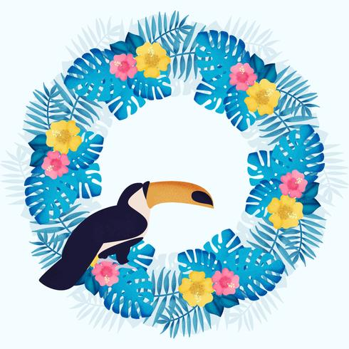 Vector Tropical Wreath