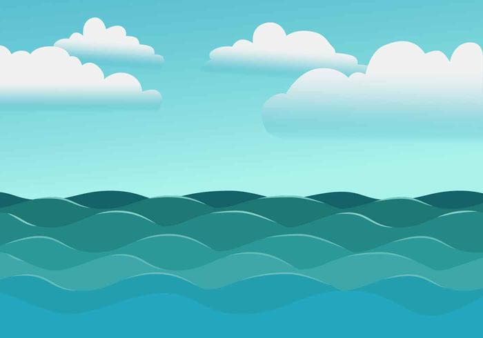 High Seas Vector Illustration