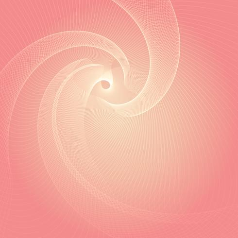 Abstract flowing lines design