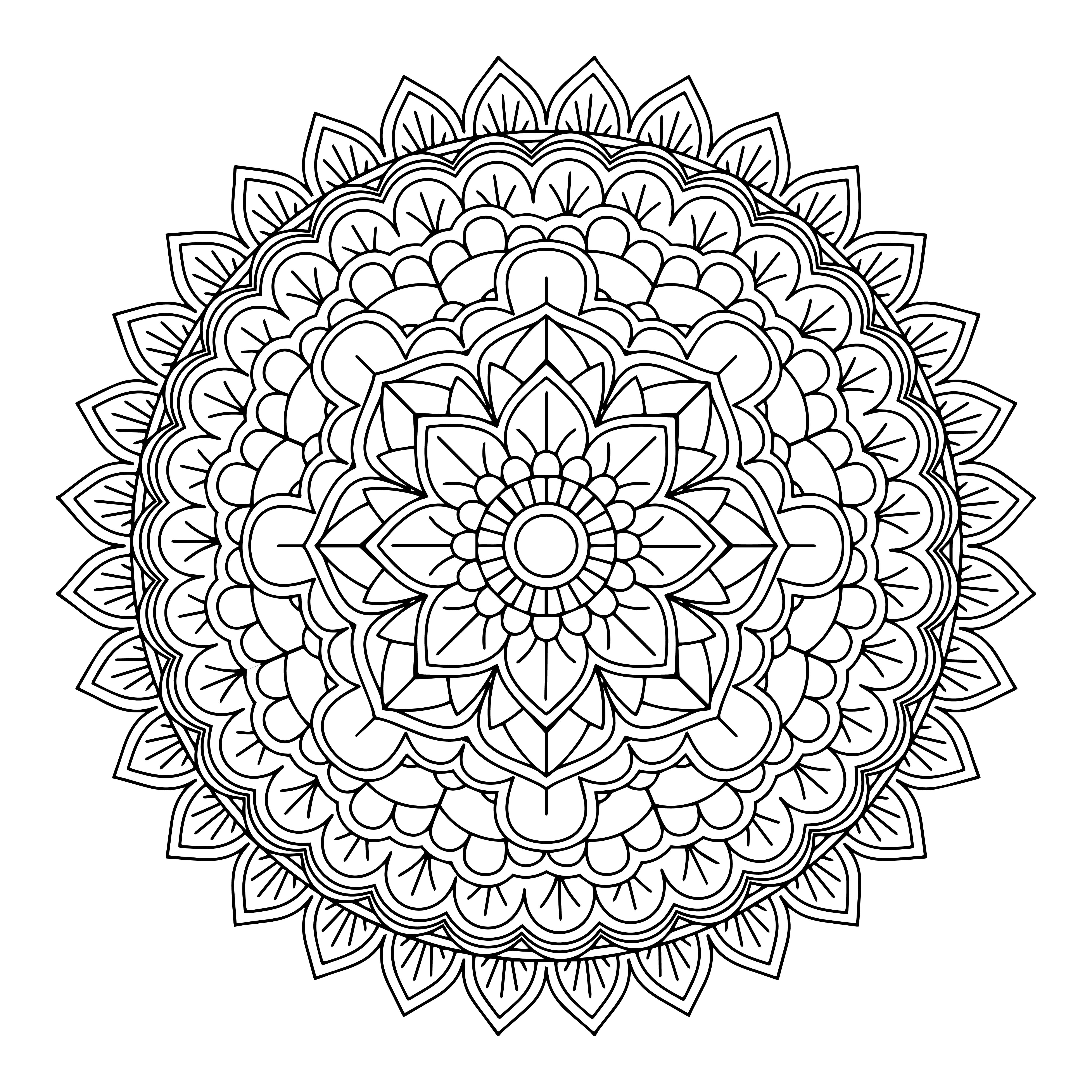 Decorative Mandala Design Download Free Vectors Clipart