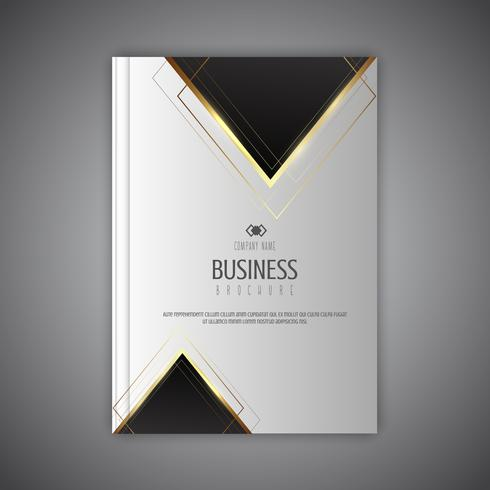 Elegantes Geschäftsbroschürendesign