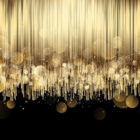 Lyx abstrakt guld bakgrund
