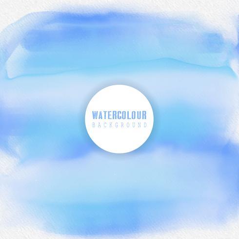 Fondo de acuarela temática de agua vector