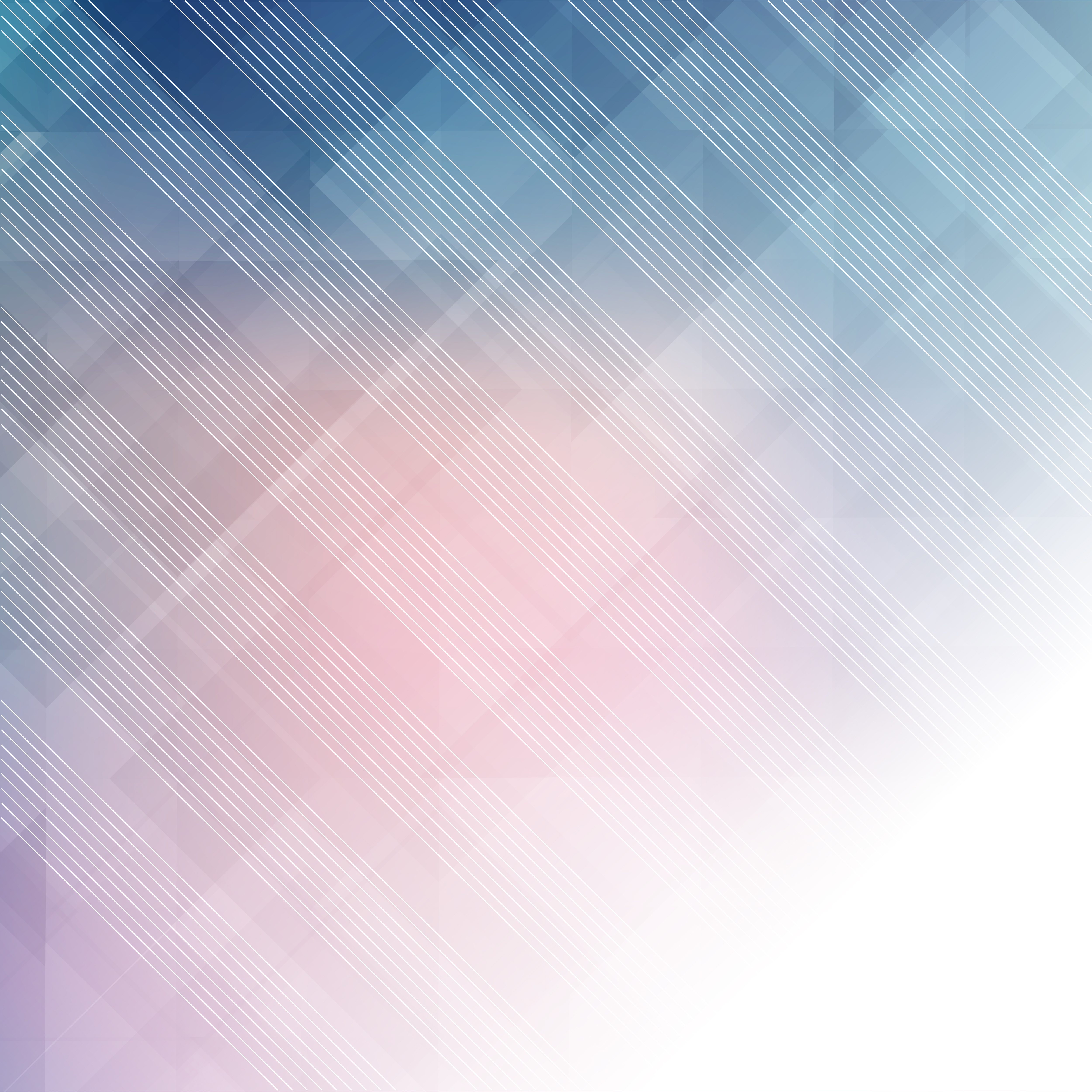 Abstract Pastel Background With Low Poly Design
