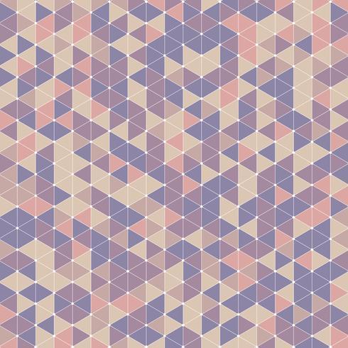 Fondo de diseño retro triángulo