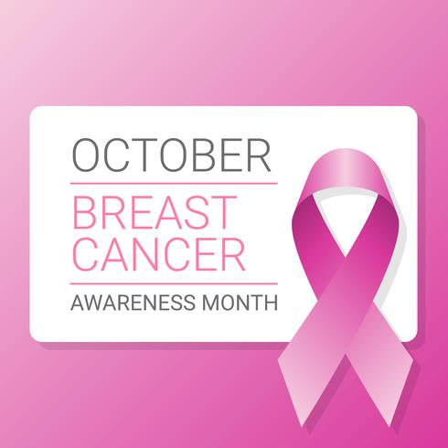 Antecedentes de cinta de conciencia de cáncer de mama