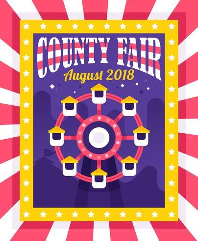 Comté Fair Flyer