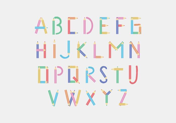 Alfabeto a matita