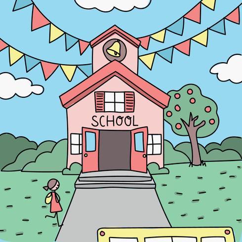 Färgglada dödade av första dagen i skolan