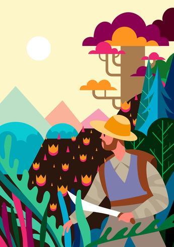 Illustration de Nature Explorer