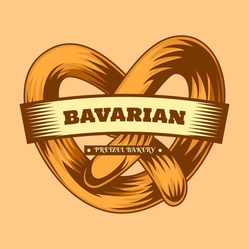 Deliciosos vectores de comida bávara