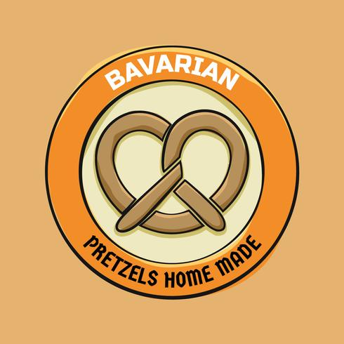 Vetores de comida deliciosa da Baviera