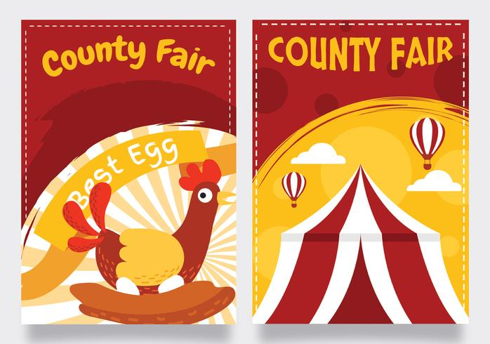 county fair vektor design