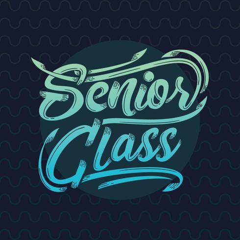 Typographie senior