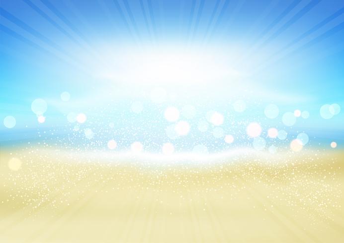 summer beach background download free vector art stock graphics