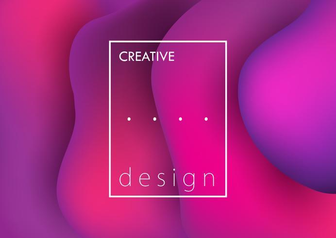 Arrière-plan de conception créative