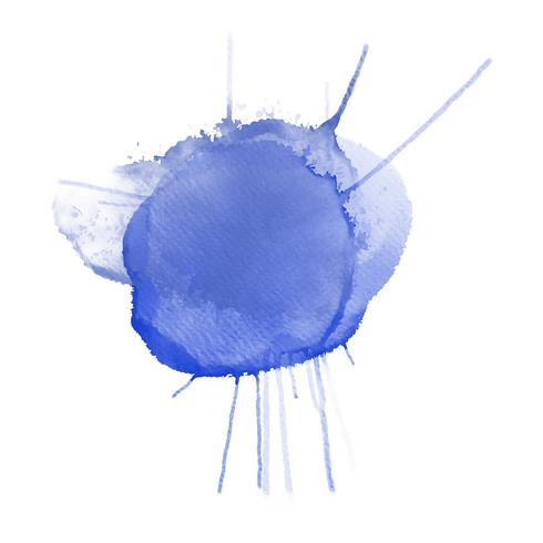 Lila akvarell splatter