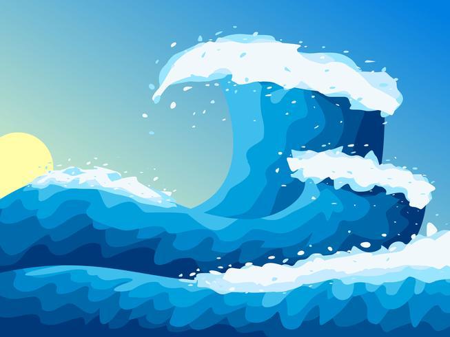 Increíbles vectores de identidad de alta mar