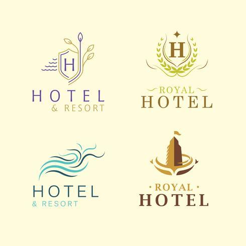 Identità aziendale di un hotel di lusso