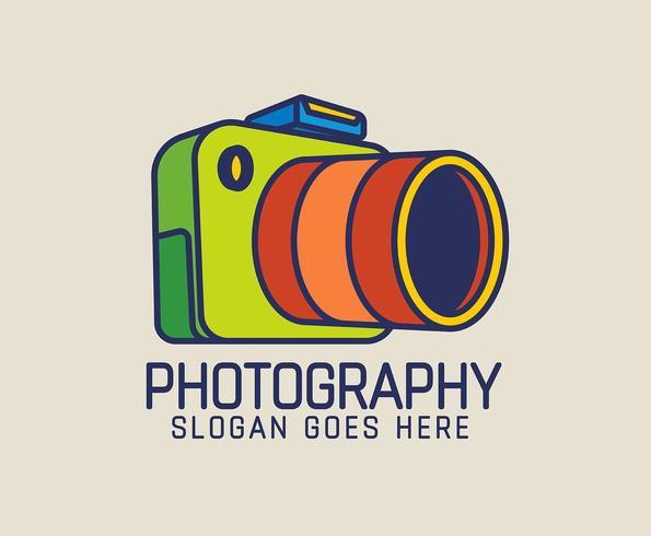 Fotograaf-logo vector