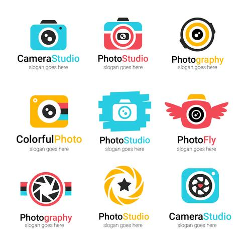 Fotógrafo Logo Vector