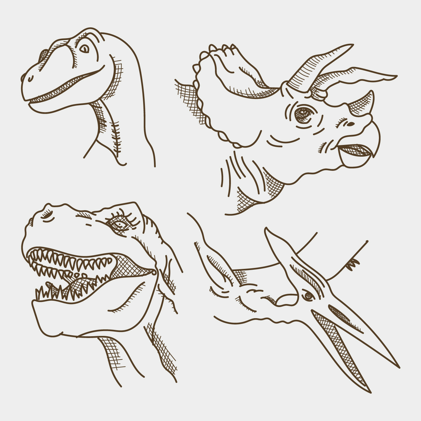 Caras Realistas De Dinosaurios Descargar Vectores Gratis Illustrator Graficos Plantillas Diseno Download 2 dinosaurios stock illustrations, vectors & clipart for free or amazingly low rates! https es vecteezy com arte vectorial 232584 caras realistas de dinosaurios