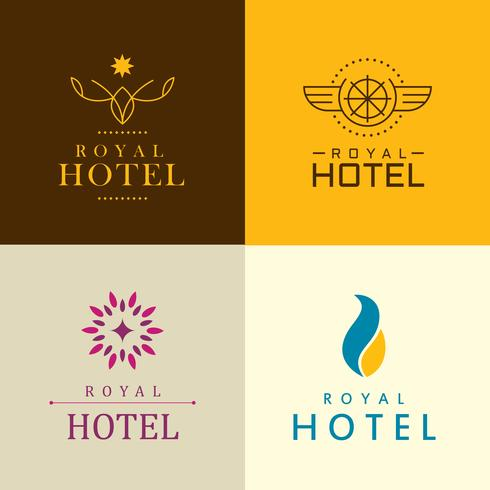 identidade corporativa do hotel de luxo