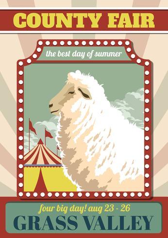 Ilustração vetorial de County Fair