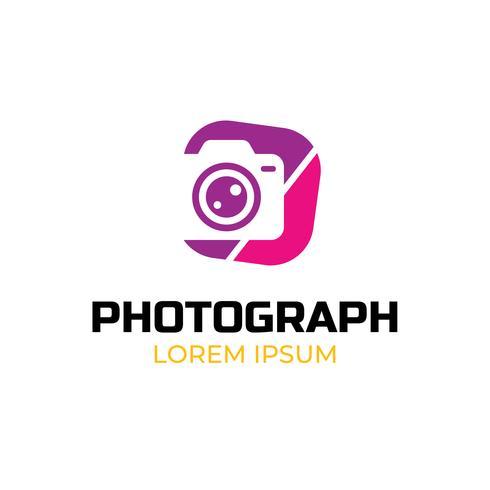 Plantilla de logotipo fotográfico