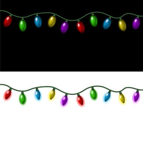 Weihnachtsbeleuchtung vektor